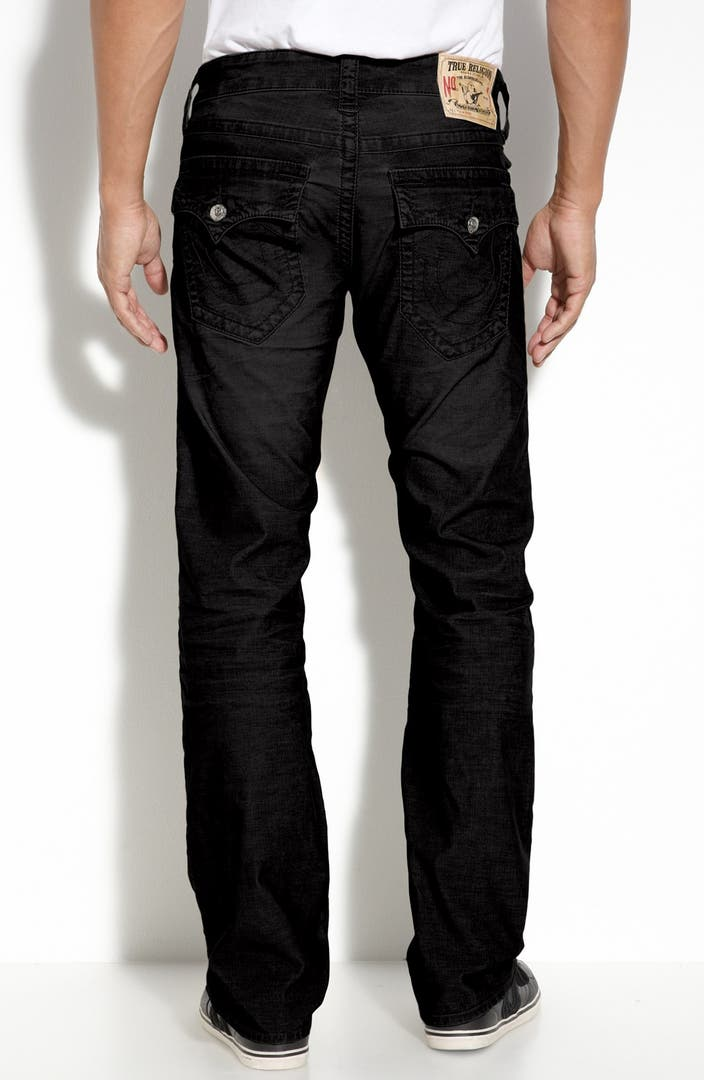 true religion brand jeans 39 ricky 39 relaxed fit corduroy. Black Bedroom Furniture Sets. Home Design Ideas
