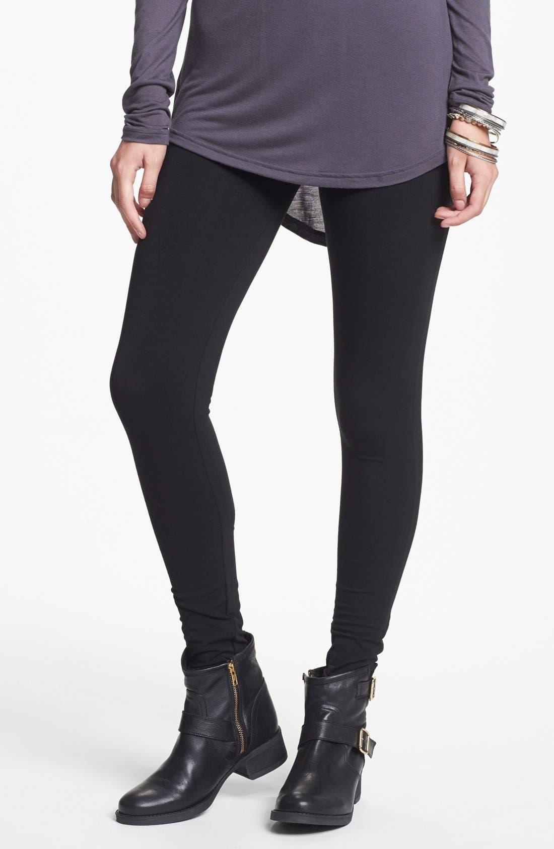 Classic Leggings,                         Main,                         color, Black