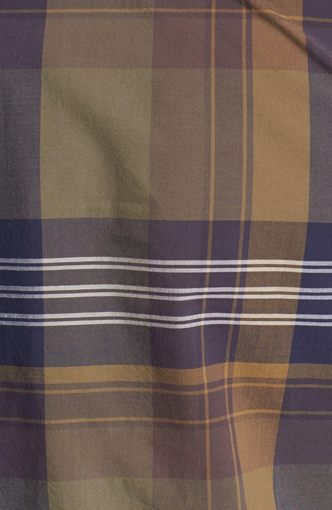 Alternate Image 2  - 1901 Plaid Poplin Shirt