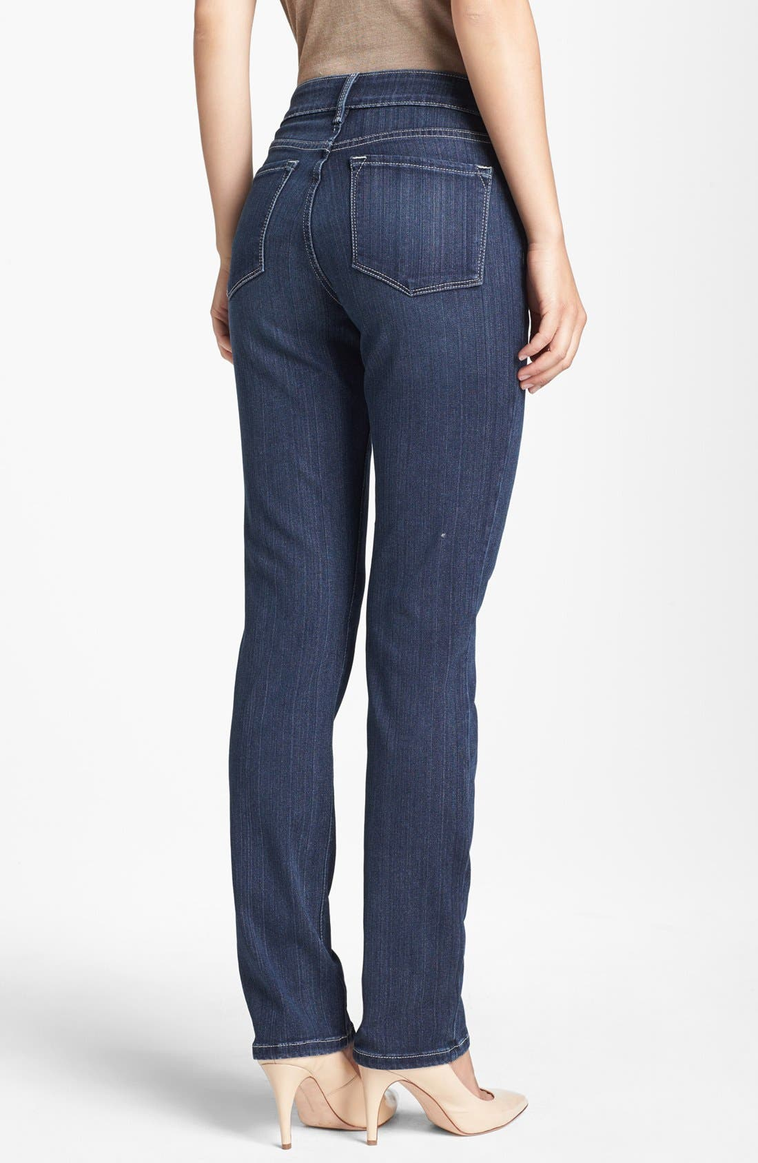 Alternate Image 2  - NYDJ 'Sheri' Stretch Skinny Jeans (Regular & Petite)