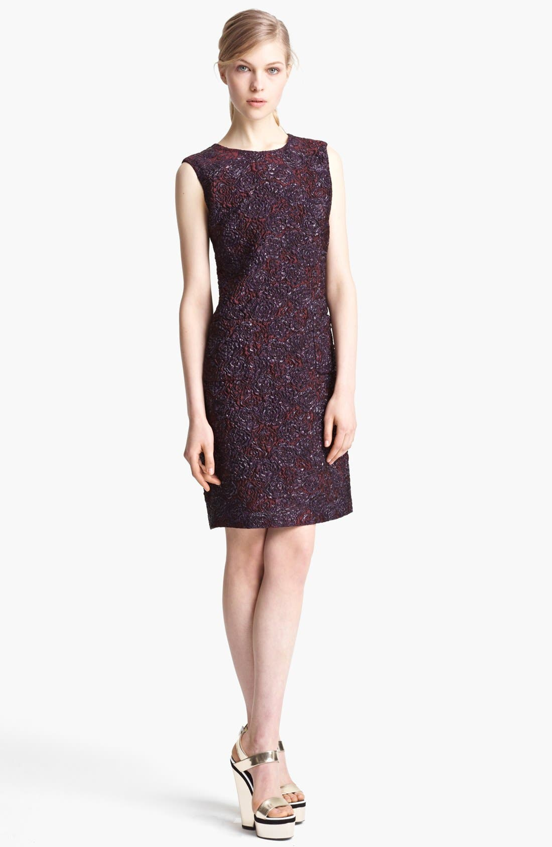 Main Image - Erdem Sleeveless Brocade Shift Dress