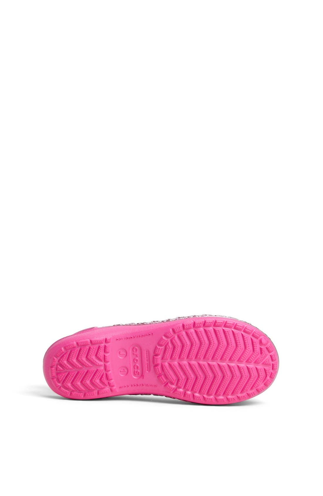 Alternate Image 4  - CROCS™ 'Genna Hearts II' Flat (Toddler, Little Kid & Big Kid)