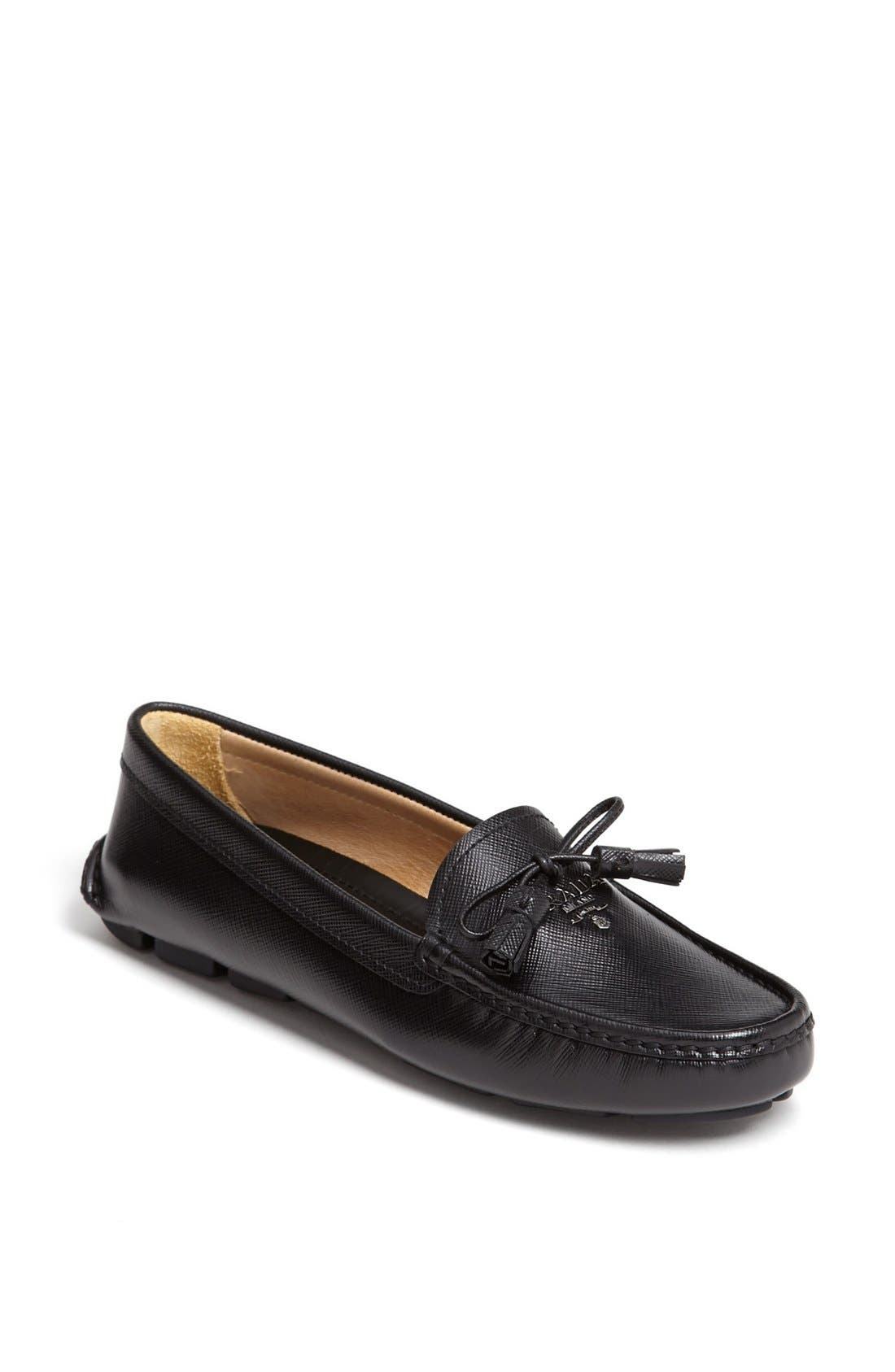 Alternate Image 1 Selected - Prada Tasseled Moccasin Loafer