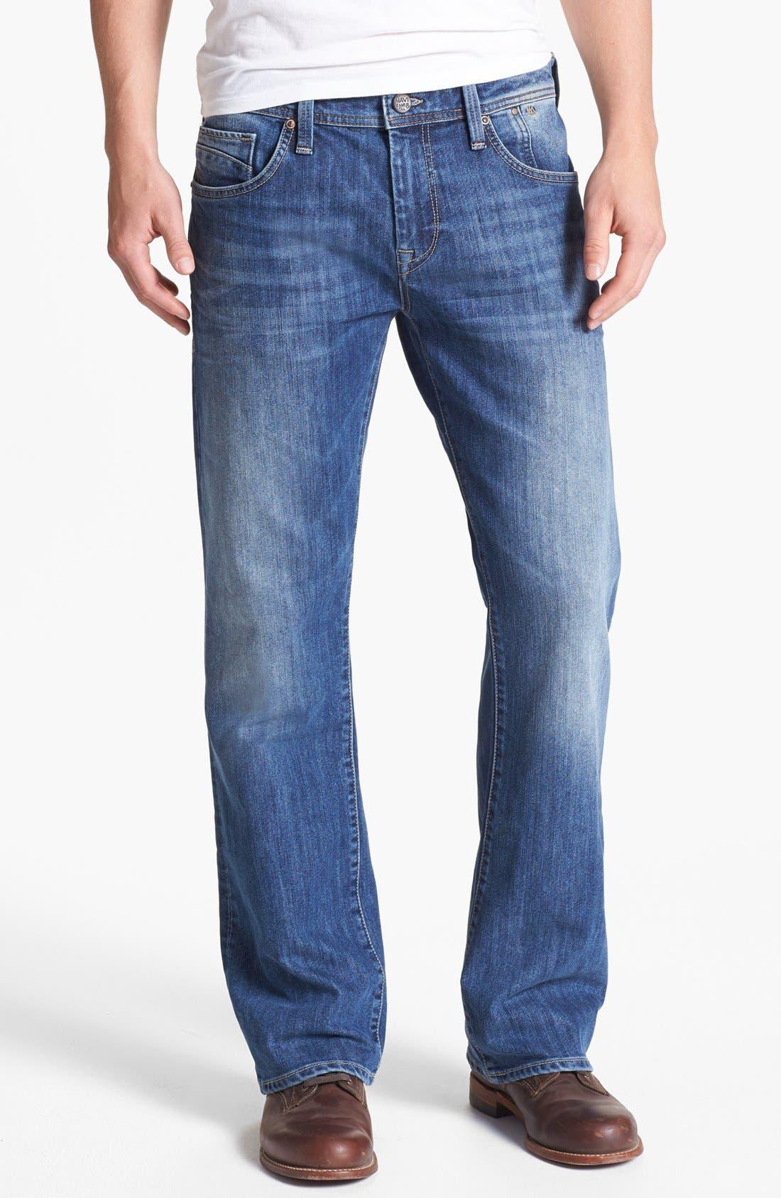 Alternate Image 2  - Mavi Jeans 'Josh' Bootcut Jeans (Mid Cooper)
