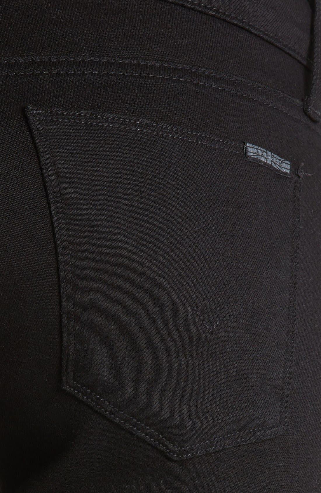 Alternate Image 3  - Hudson Jeans 'Krista Supermodel' Skinny Jeans (Black)