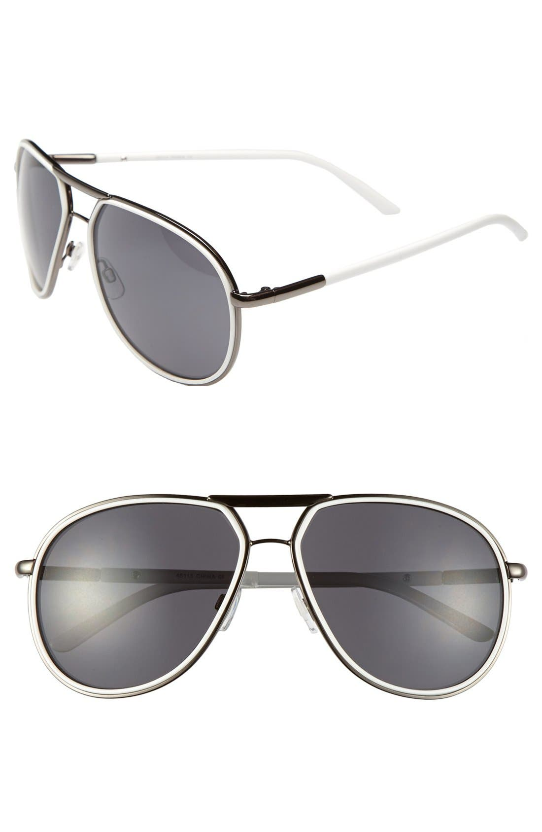 Alternate Image 1 Selected - A.J. Morgan 'Dream' Aviator Sunglasses