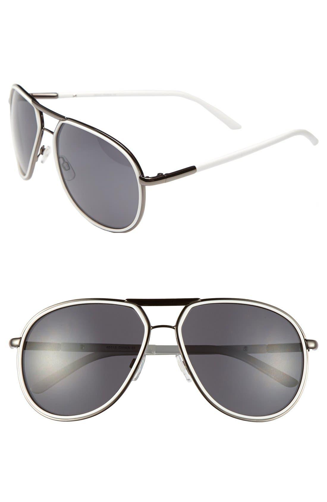 Main Image - A.J. Morgan 'Dream' Aviator Sunglasses