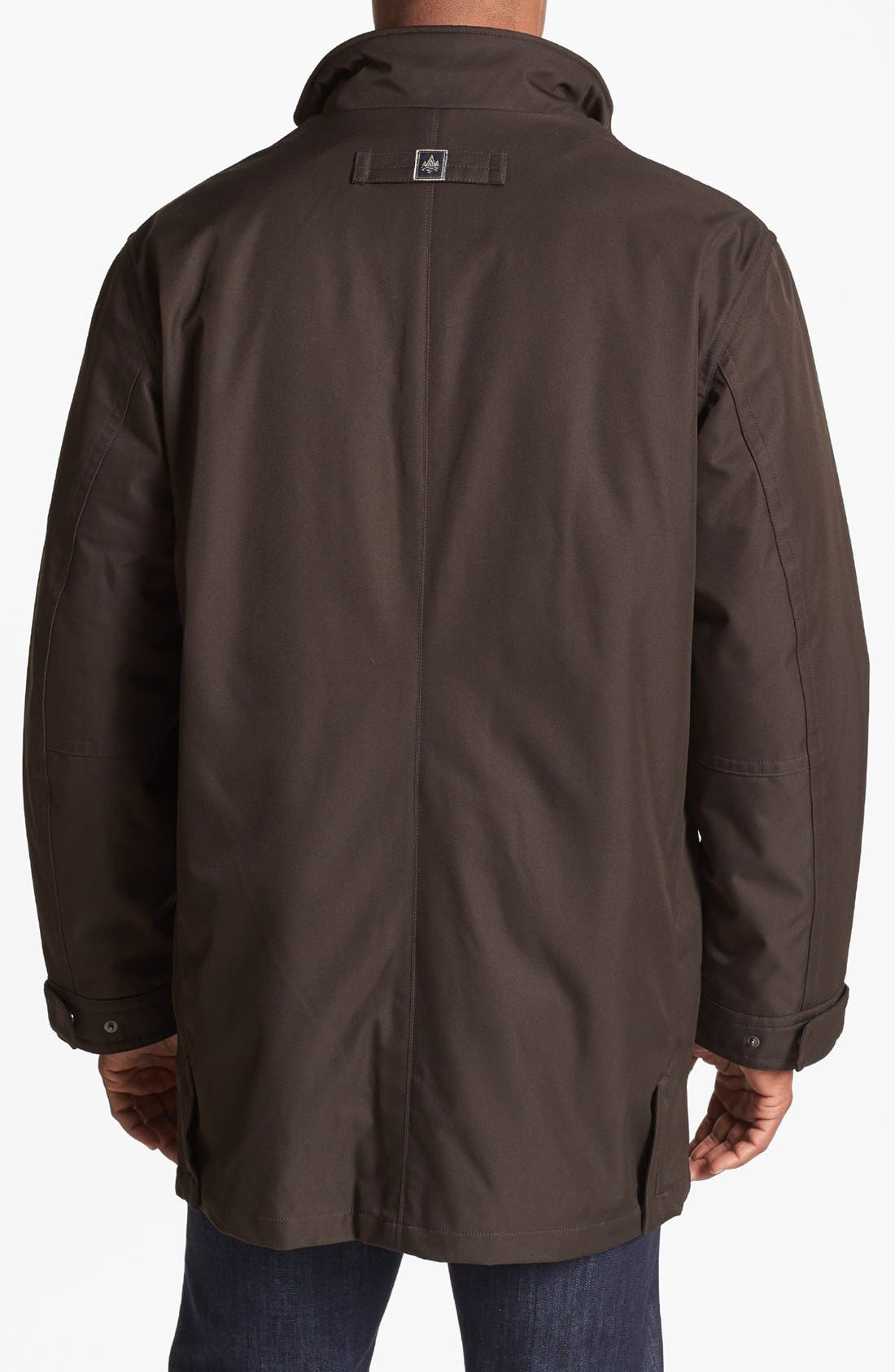 Alternate Image 2  - RAINFOREST 3-in-1 Micro Twill Jacket