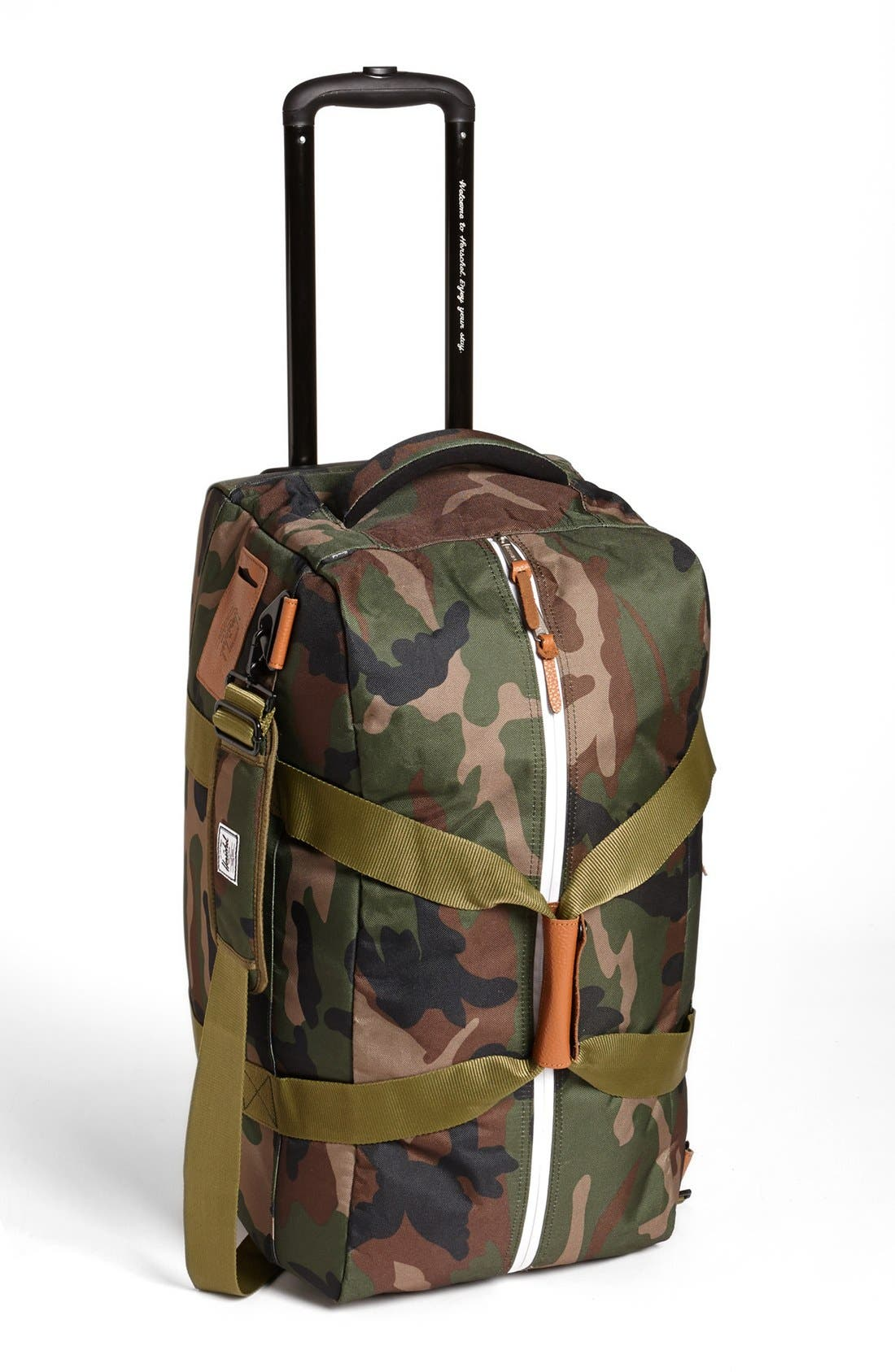 Alternate Image 1 Selected - Herschel Supply Co. 'Wheelie Outfitter' Travel Bag (24 Inch)