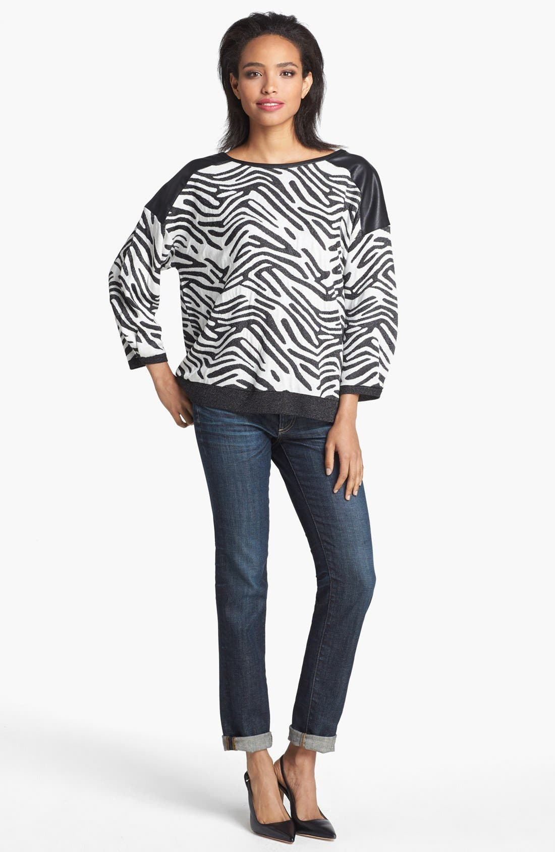 Alternate Image 1 Selected - Trouvé 'Wild' Knit Sweater