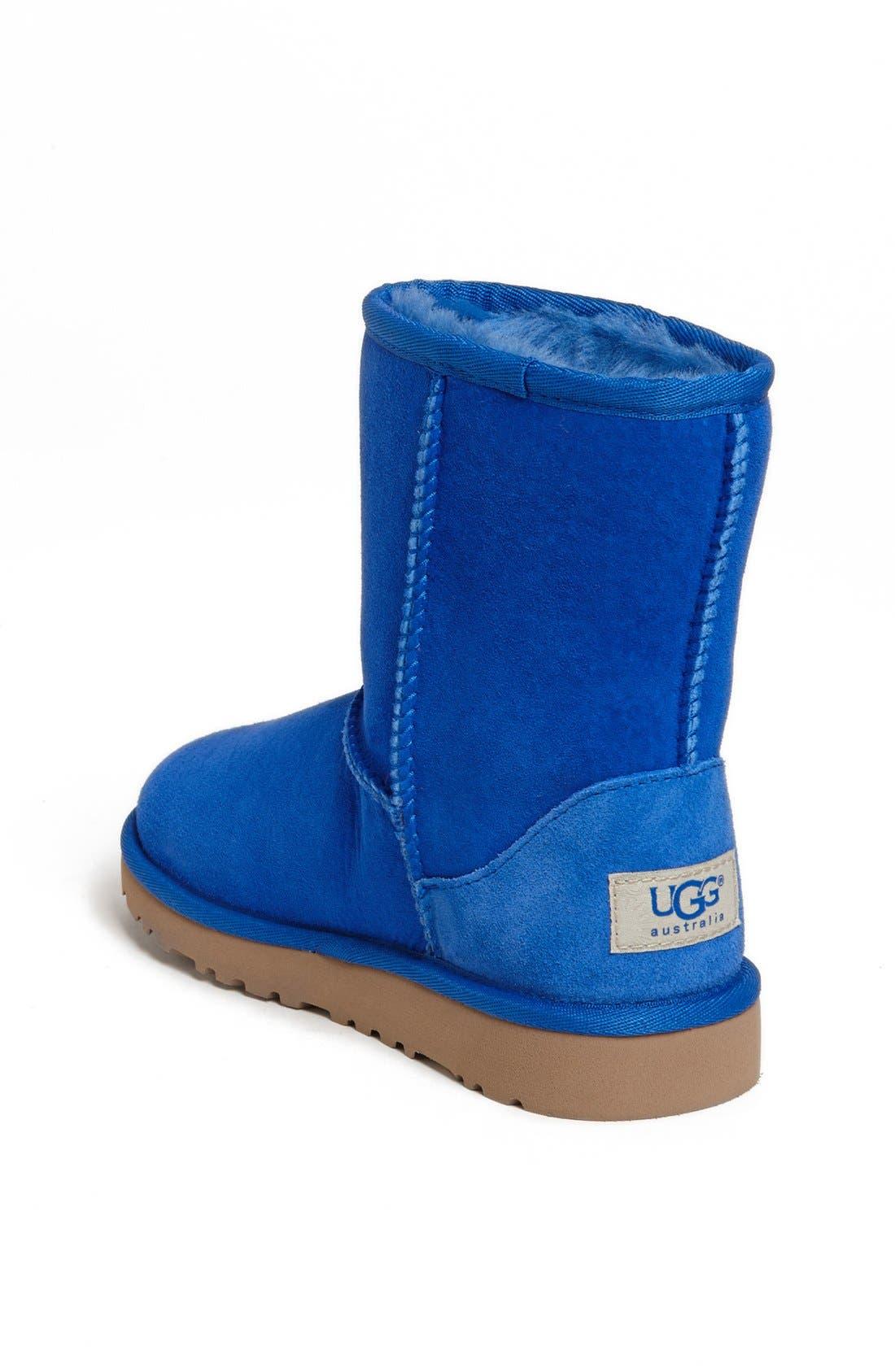Alternate Image 2  - UGG® Classic Short Boot (Walker, Toddler, Little Kid & Big Kid)