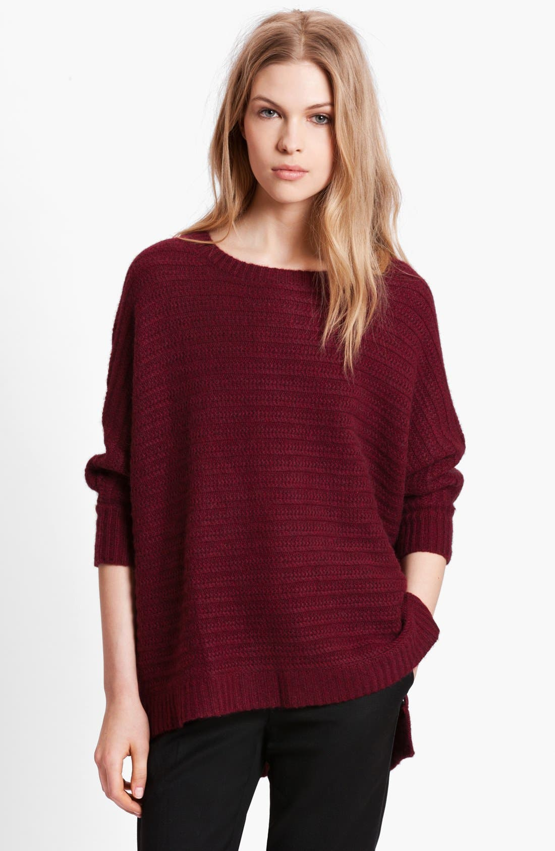 Main Image - Zadig & Voltaire 'Athina Deluxe' Dolman Sleeve Cashmere Sweater