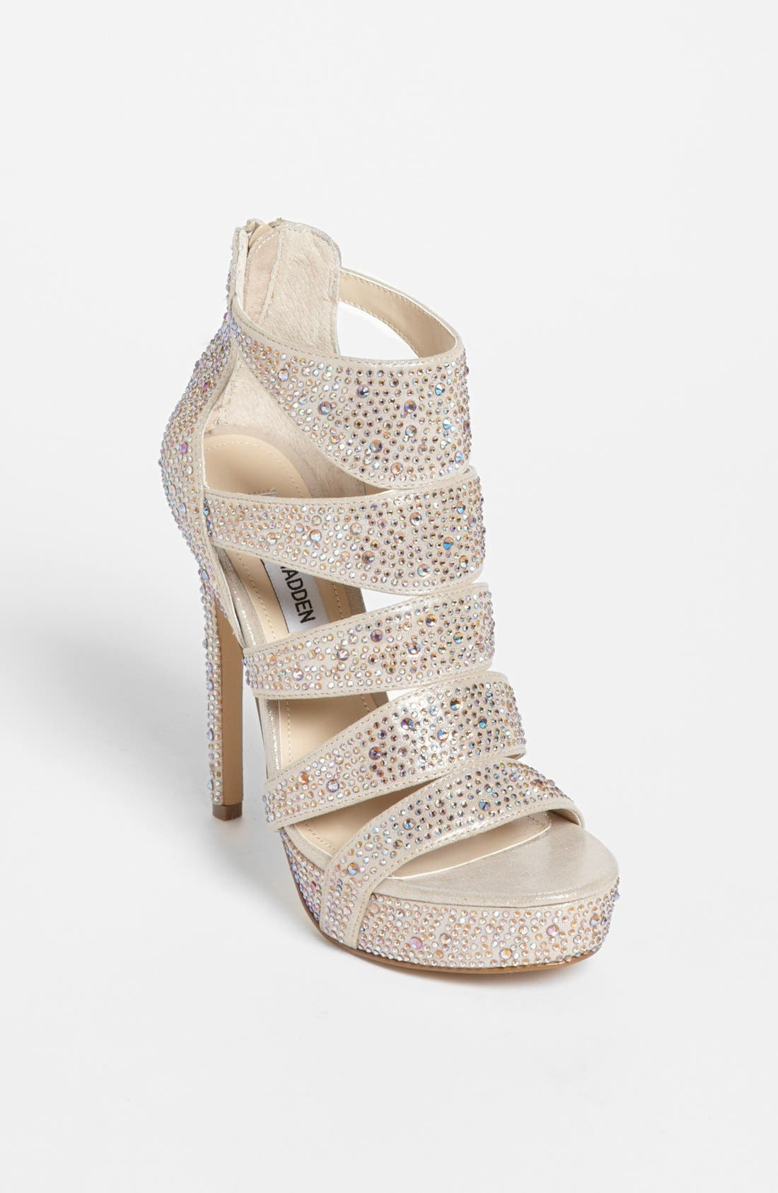 'Spycee-R' Sandal,                             Main thumbnail 1, color,                             Champagne Multi