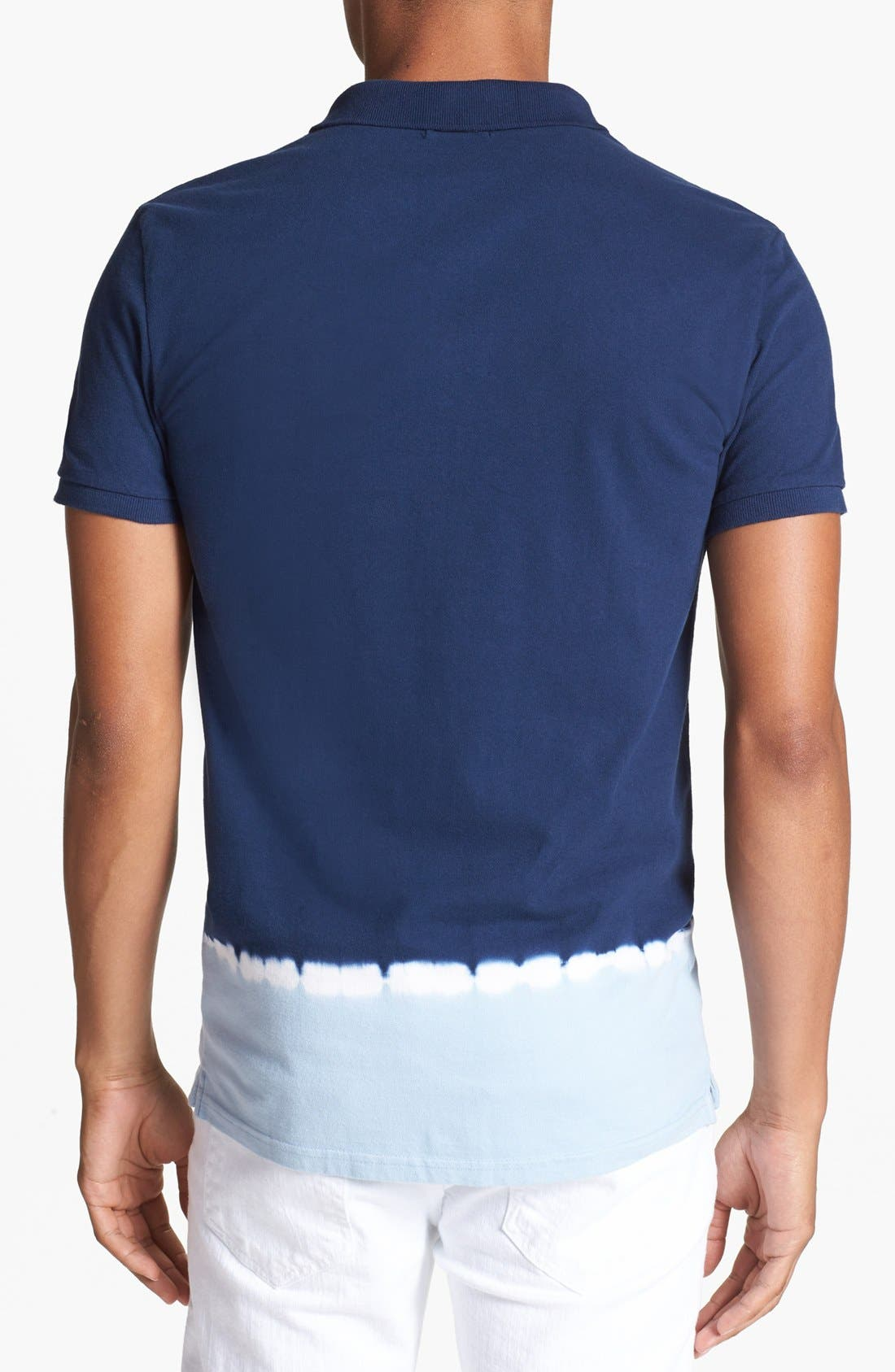 Alternate Image 2  - Antony Morato Dip Dye Polo