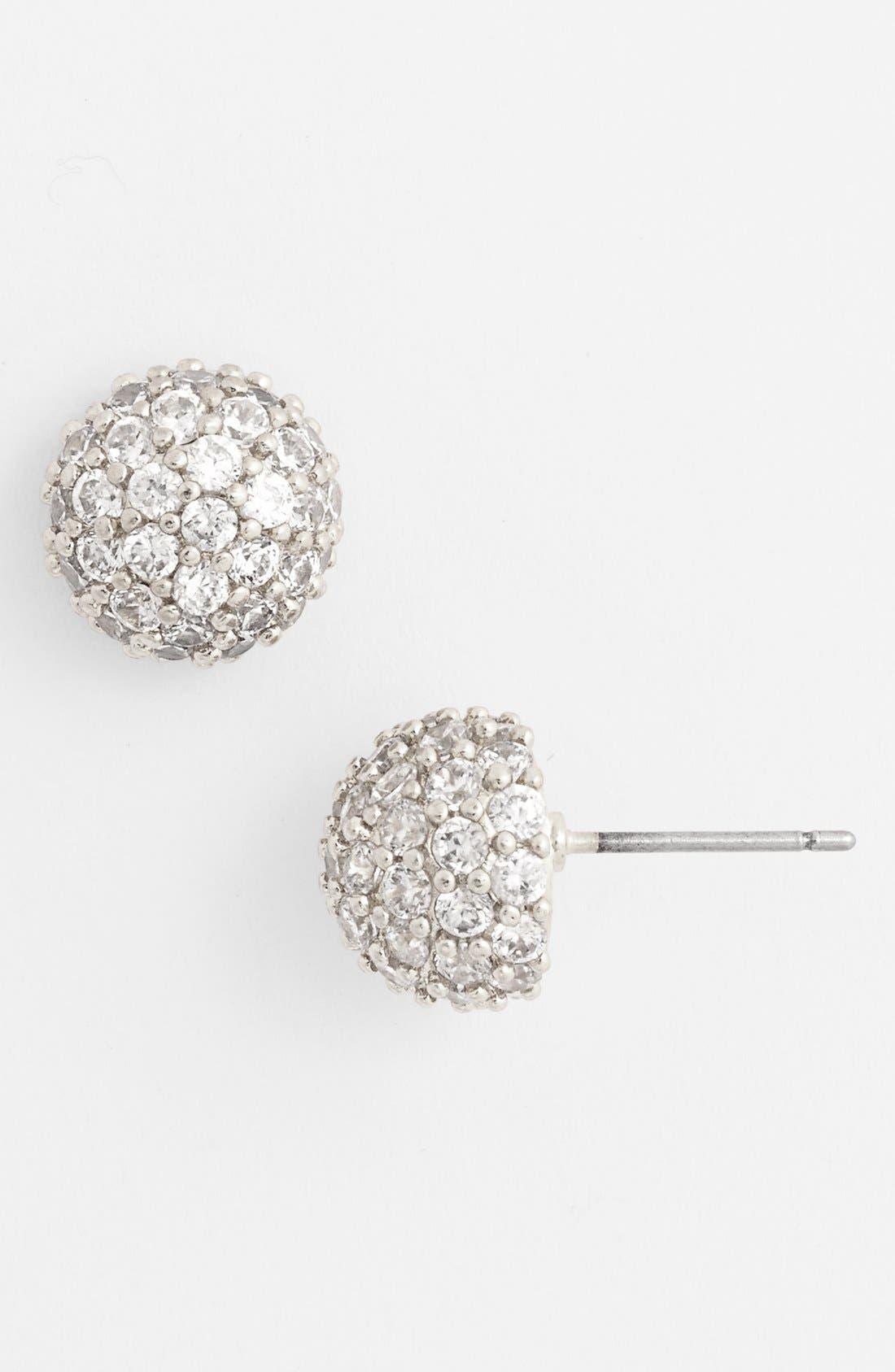 Alternate Image 1 Selected - Nordstrom Pavé Stud Earrings