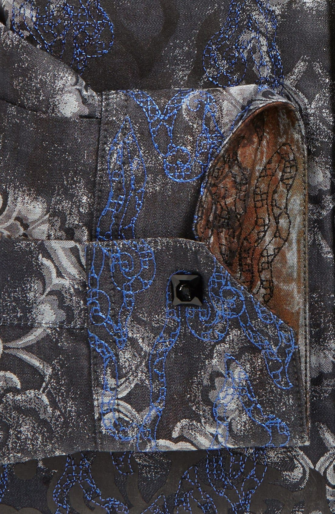 Alternate Image 5  - Robert Graham Reversible 'Spitfire' Regular Fit Sport Shirt (Limited Edition)