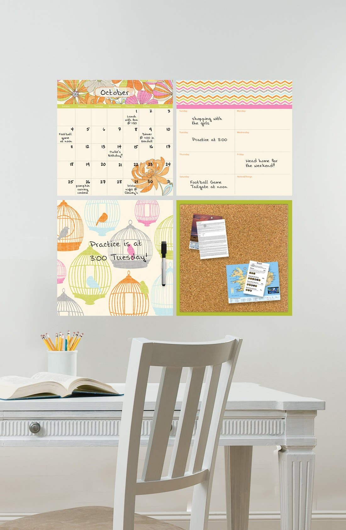 Main Image - Wallpops Dry Erase Organization Kit