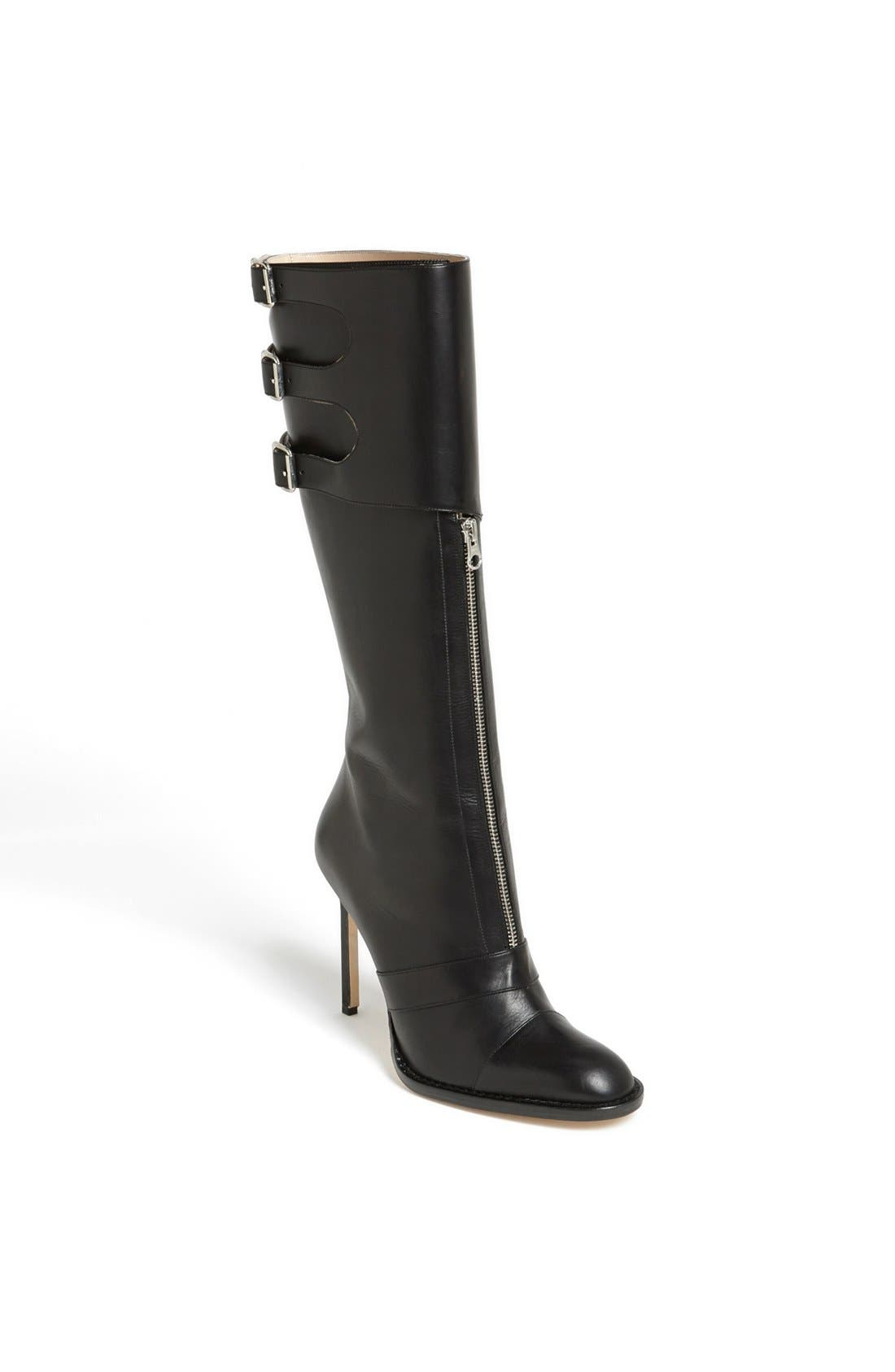 Alternate Image 1 Selected - Manolo Blahnik Tall Leather Boot