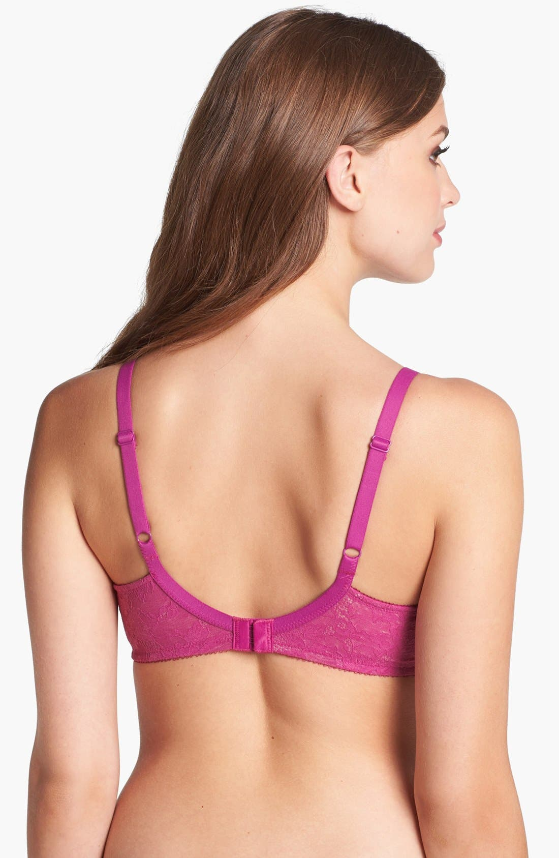 Alternate Image 2  - Wacoal Finesse Molded Underwire T-Shirt Bra