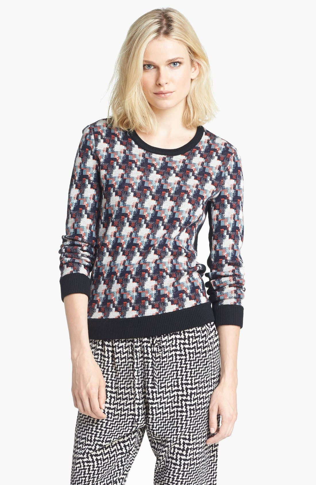 Alternate Image 1 Selected - rag & bone 'Mariah' Merino Wool Sweater