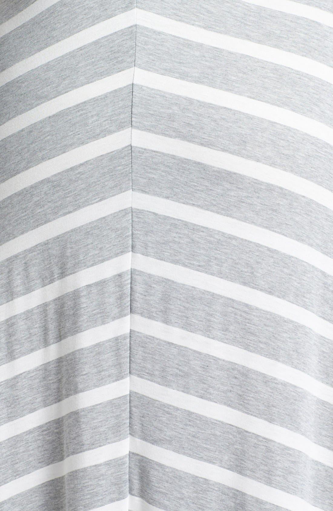 Alternate Image 3  - Eight Sixty Stripe Maxi Dress (Plus Size)