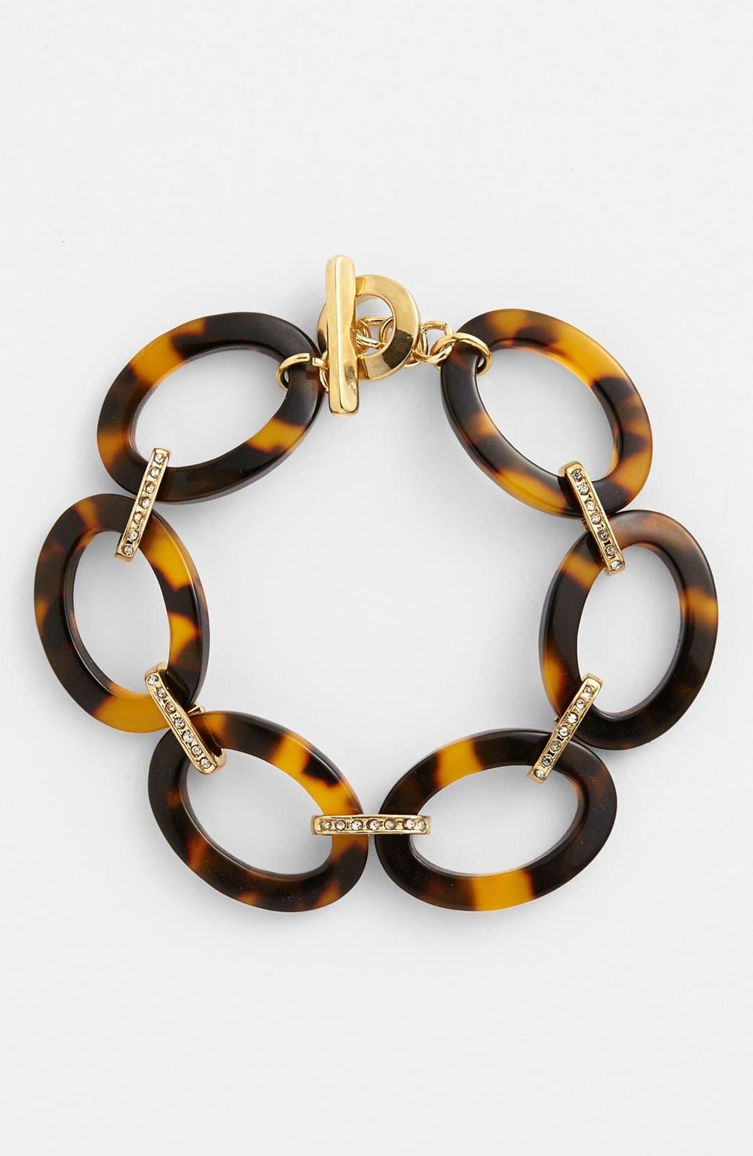 Alternate Image 1 Selected - Lauren Ralph Lauren Oval Link Bracelet
