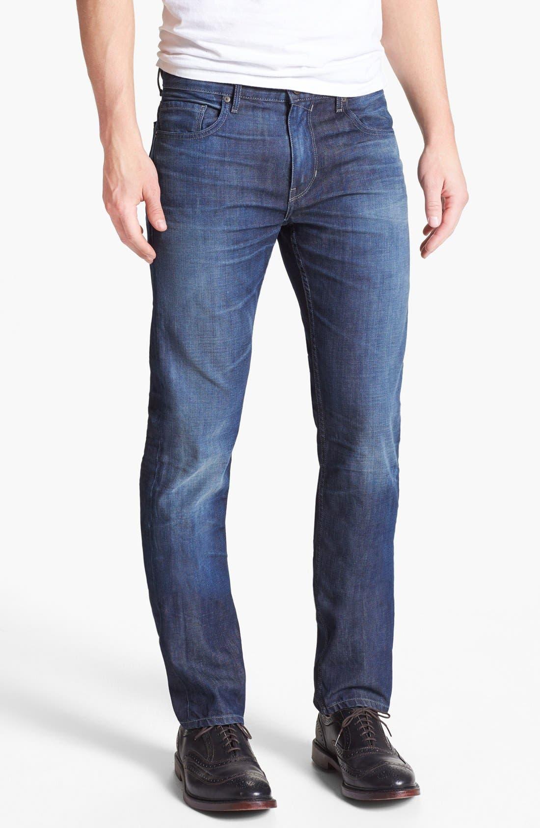Alternate Image 2  - PAIGE 'Federal' Slim Fit Jeans (Peak)