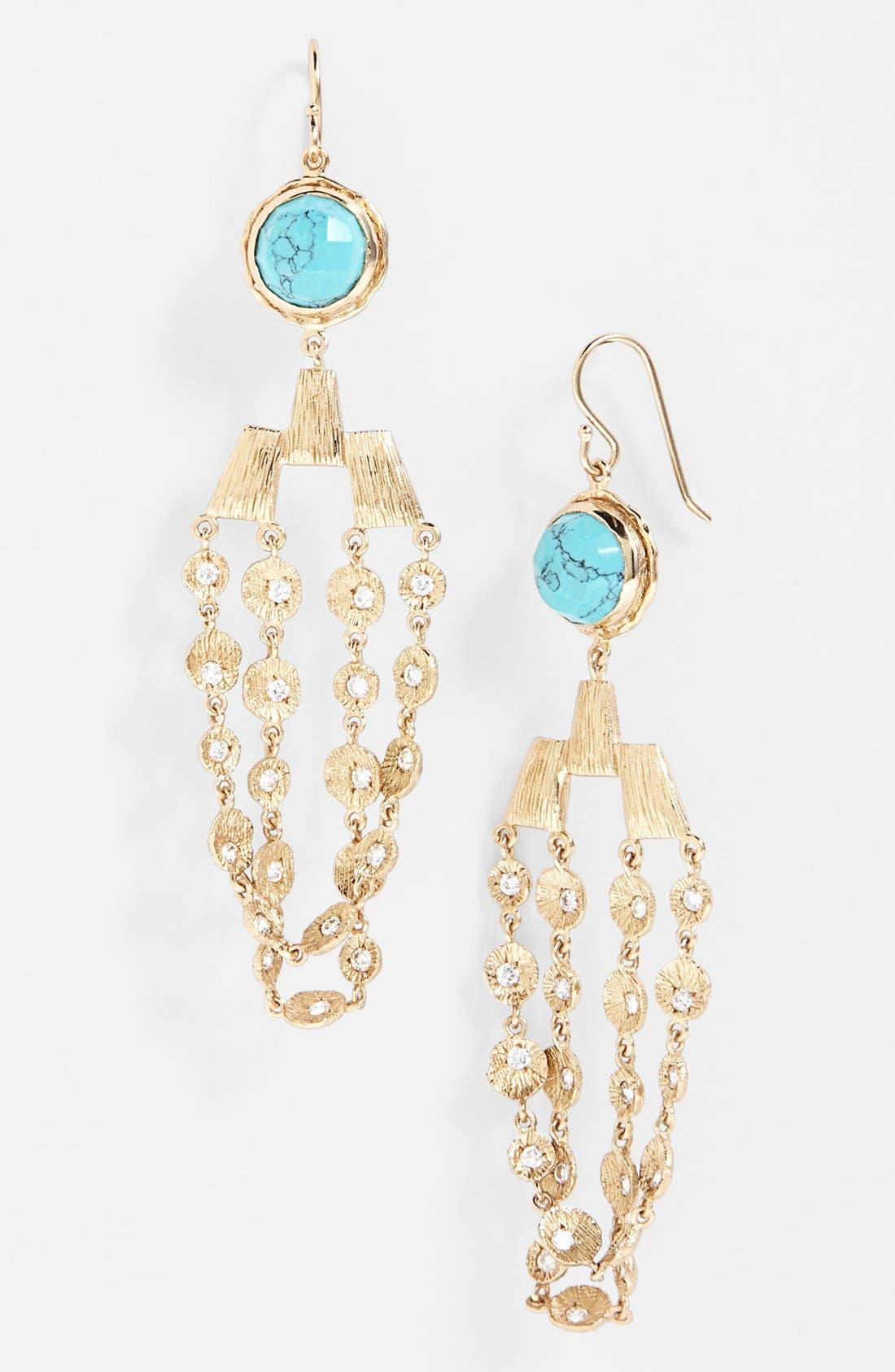 Alternate Image 1 Selected - Melinda Maria 'Kristina' Drop Earrings