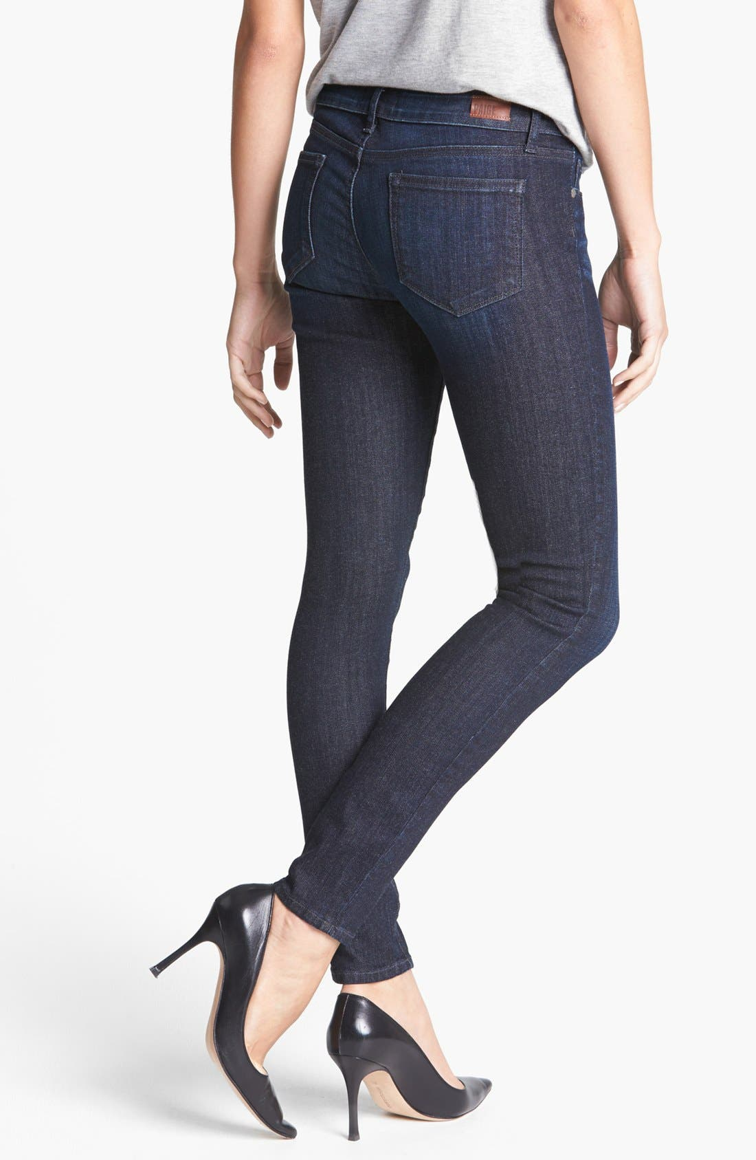 Alternate Image 2  - Paige Denim 'Verdugo' Ultra Skinny Jeans (Rainier)