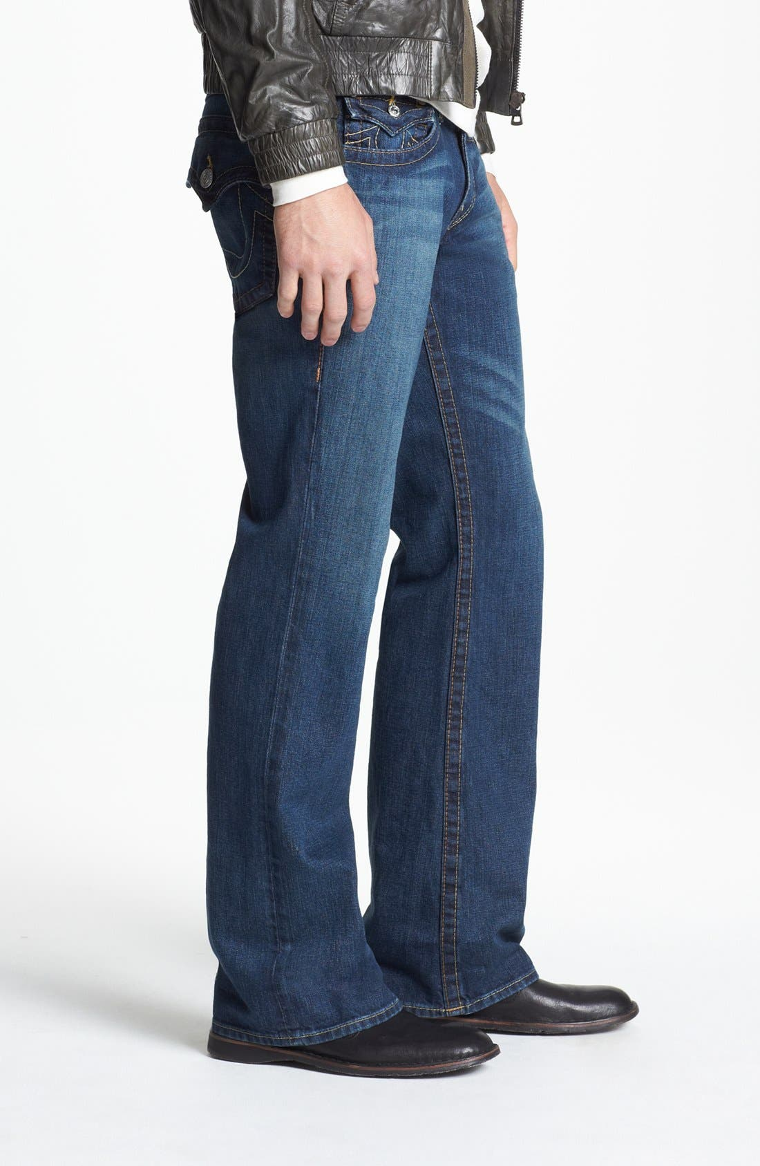 Alternate Image 3  - True Religion Brand Jeans 'Billy' Bootcut Jeans (Monte)