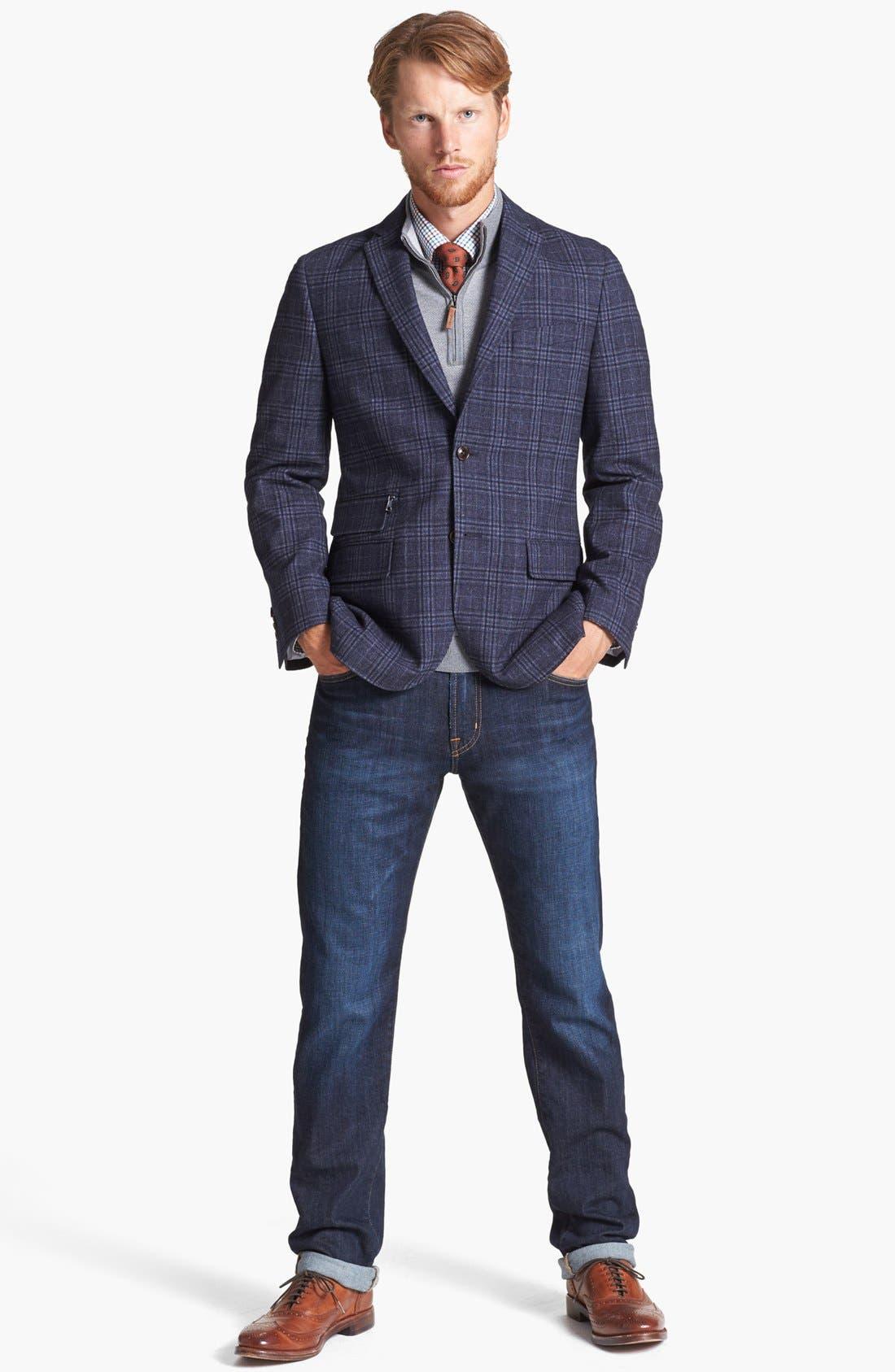Alternate Image 9  - AG Graduate Slim Straight Leg Jeans (Robinson)