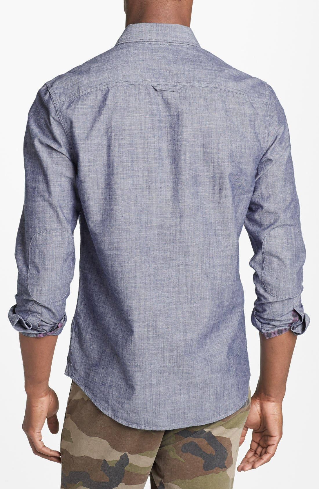 Alternate Image 2  - 1901 Chambray Shirt