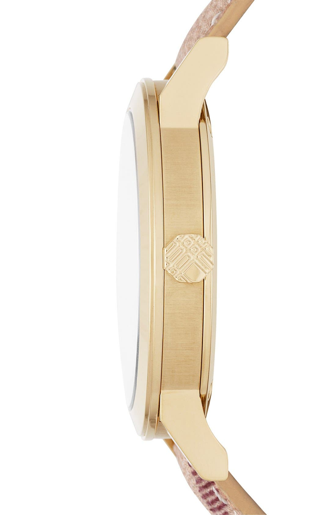Alternate Image 3  - Burberry Large Check Strap Watch, 38mm
