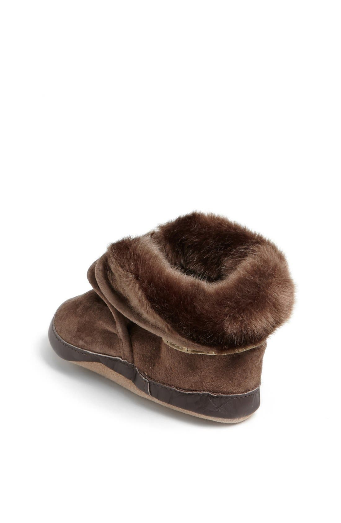 'Cozy' Ankle Bootie,                             Alternate thumbnail 2, color,                             Brown