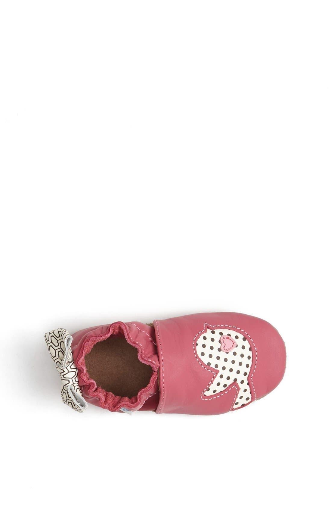 Alternate Image 3  - Robeez® 'Tweetin' Birds' Crib Shoe (Baby & Walker)