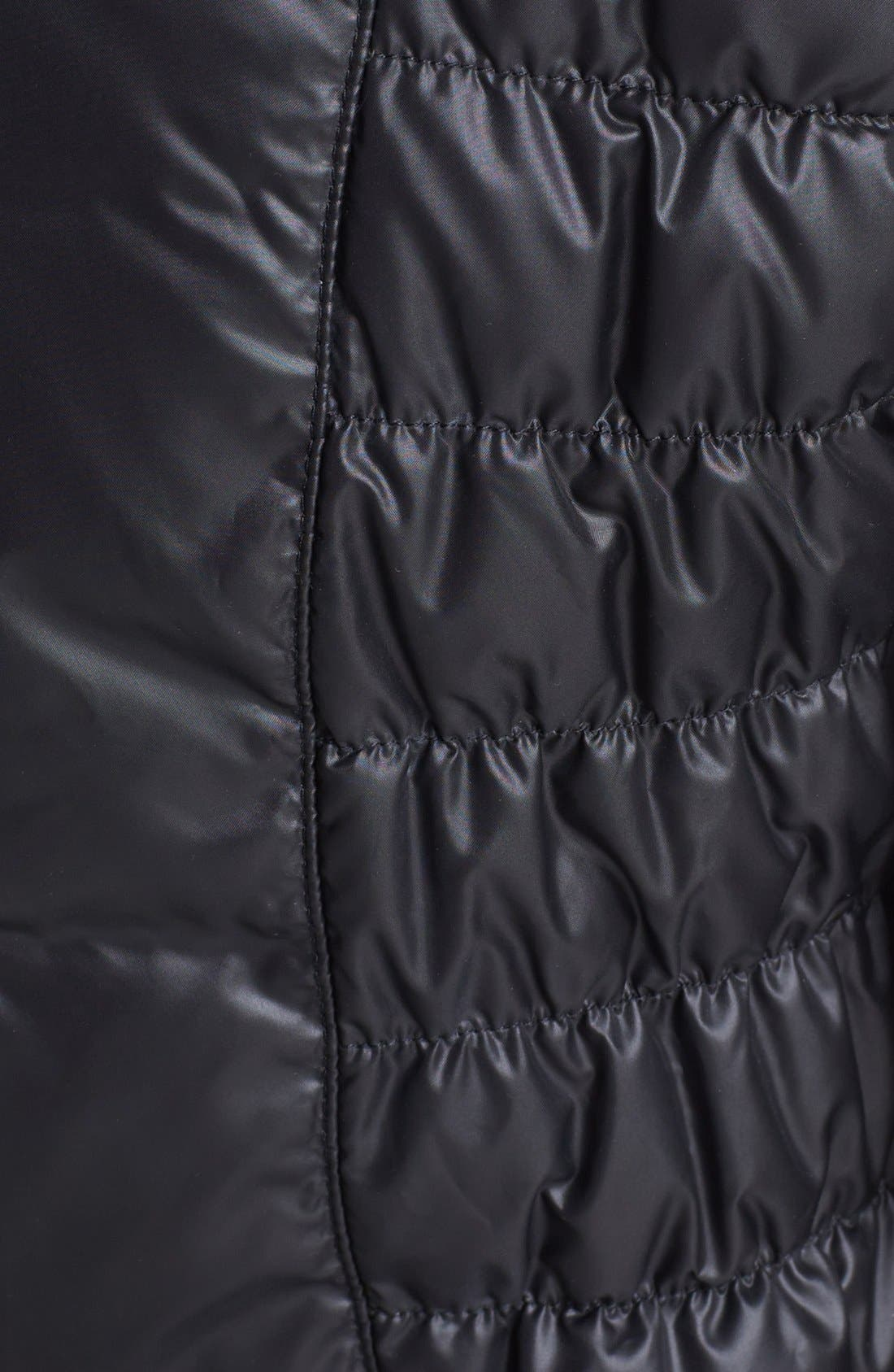 Alternate Image 3  - Kenneth Cole New York Ruched Packable Down Jacket