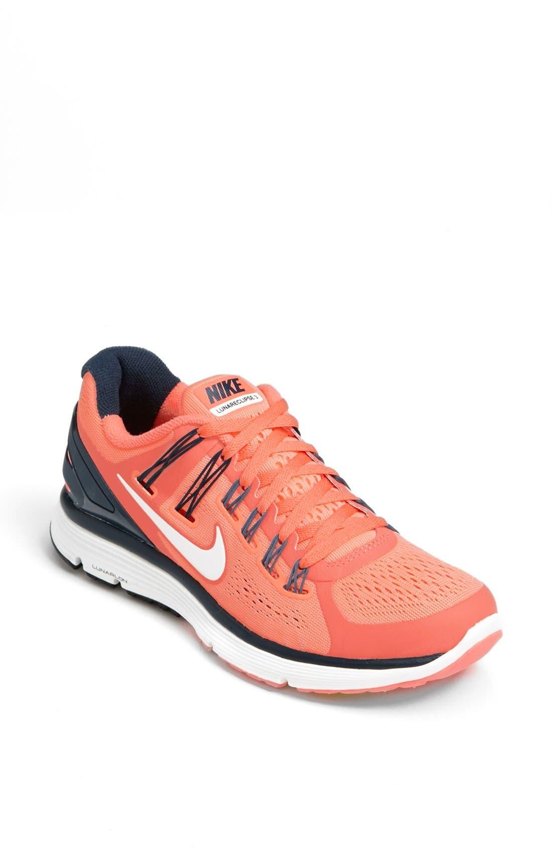Alternate Image 1 Selected - Nike 'LunarEclipse+ 3' Running Shoe (Women)