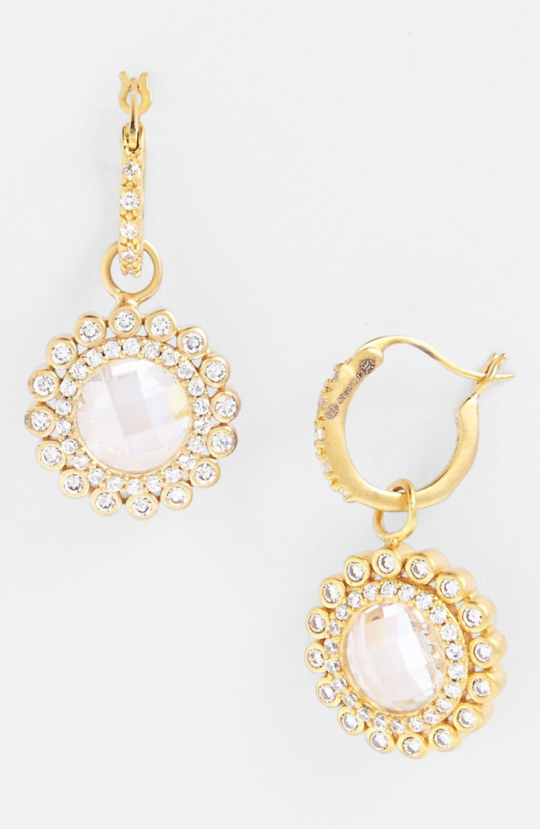 Main Image - FREIDA ROTHMAN 'Hamptons' Sunflower Drop Earrings