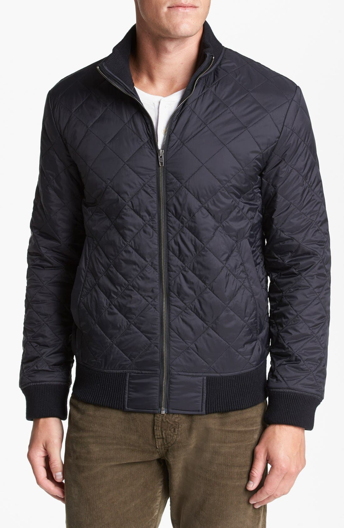 Main Image - French Connection 'Marine' Quilted Jacket