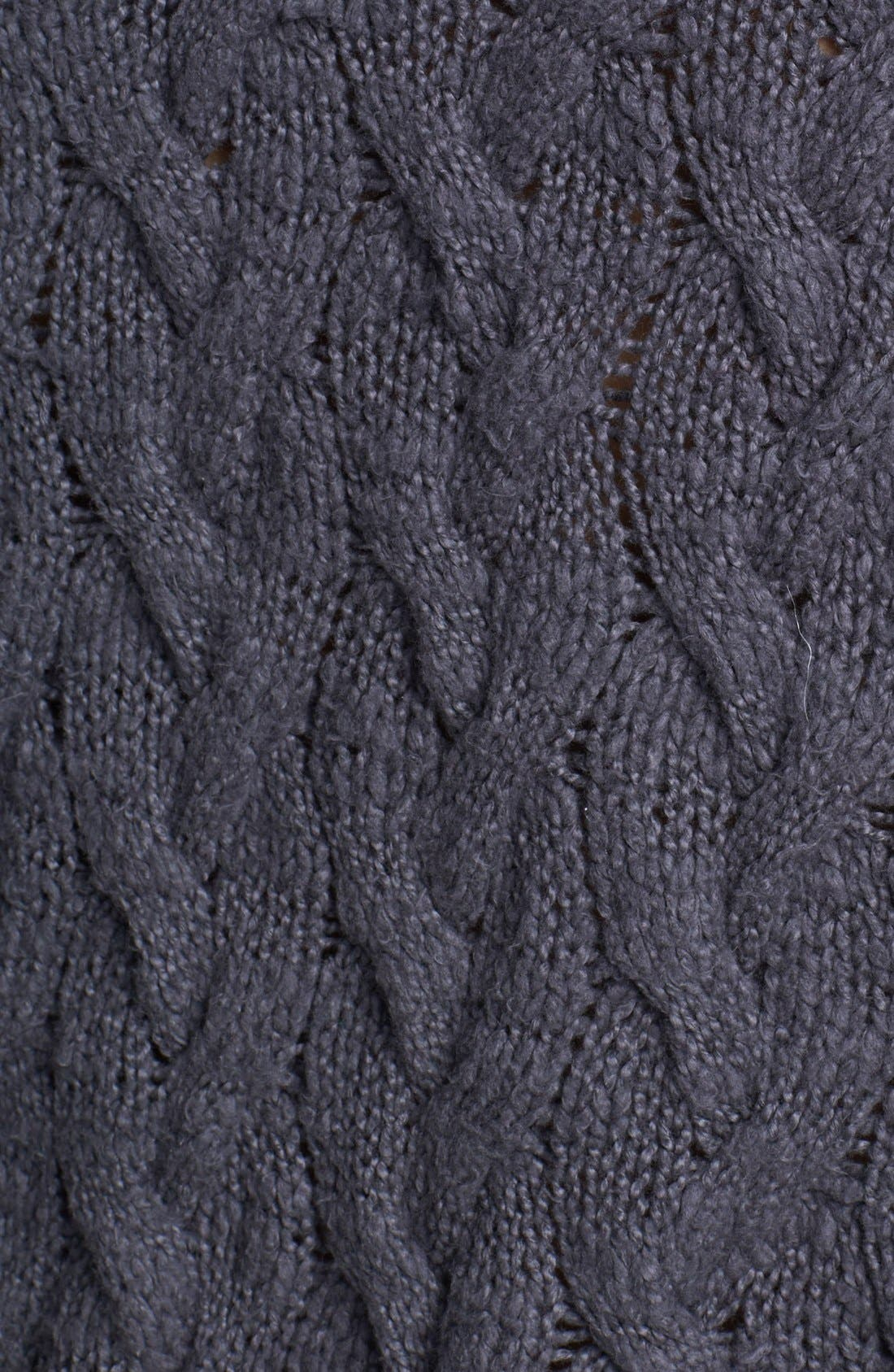 Alternate Image 3  - Free People 'Berkeley' Cable Knit Sweater