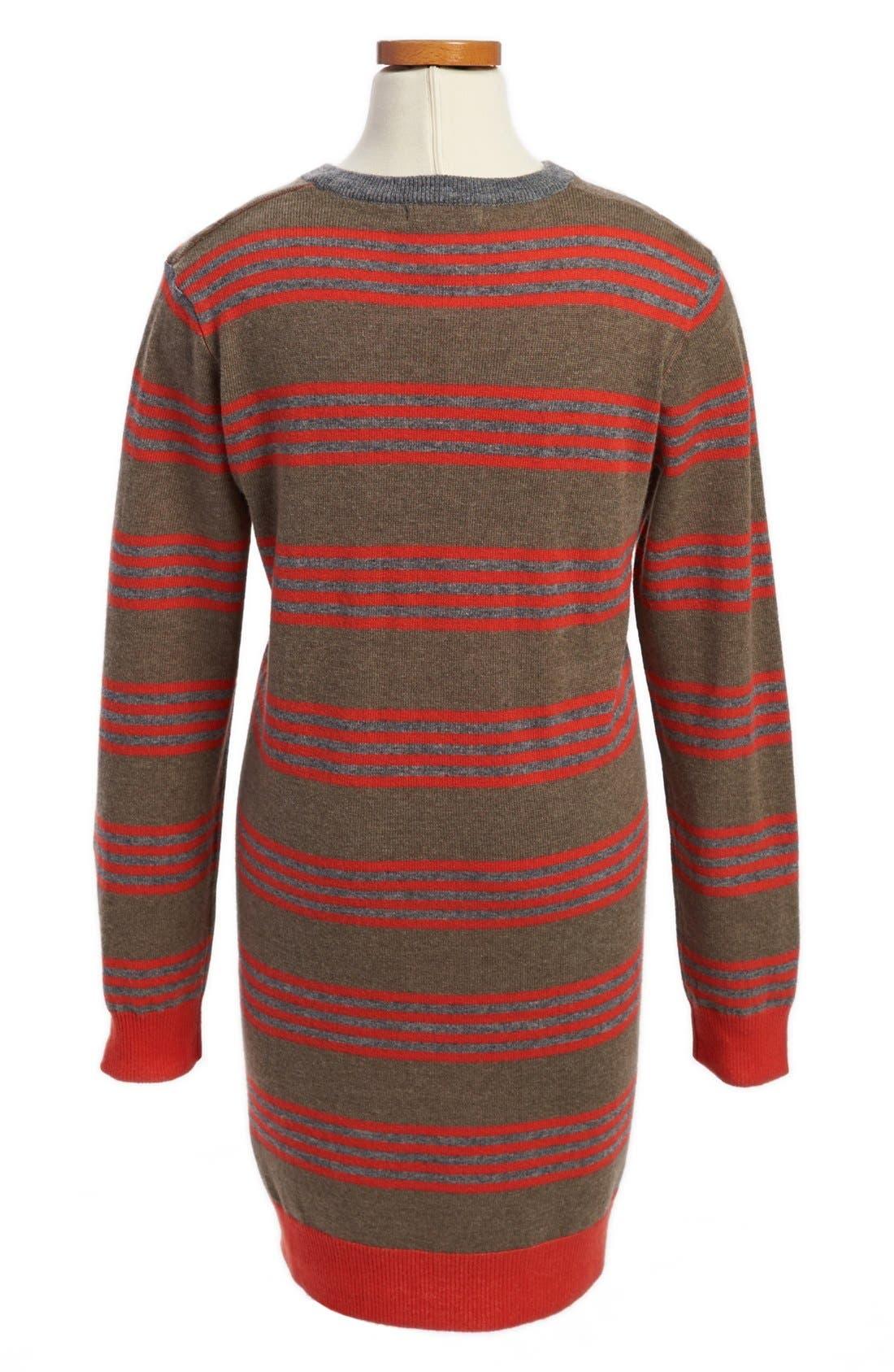 Alternate Image 2  - Stella McCartney Kids 'Sadie' Stripe Sweater Dress (Little Girls & Big Girls)