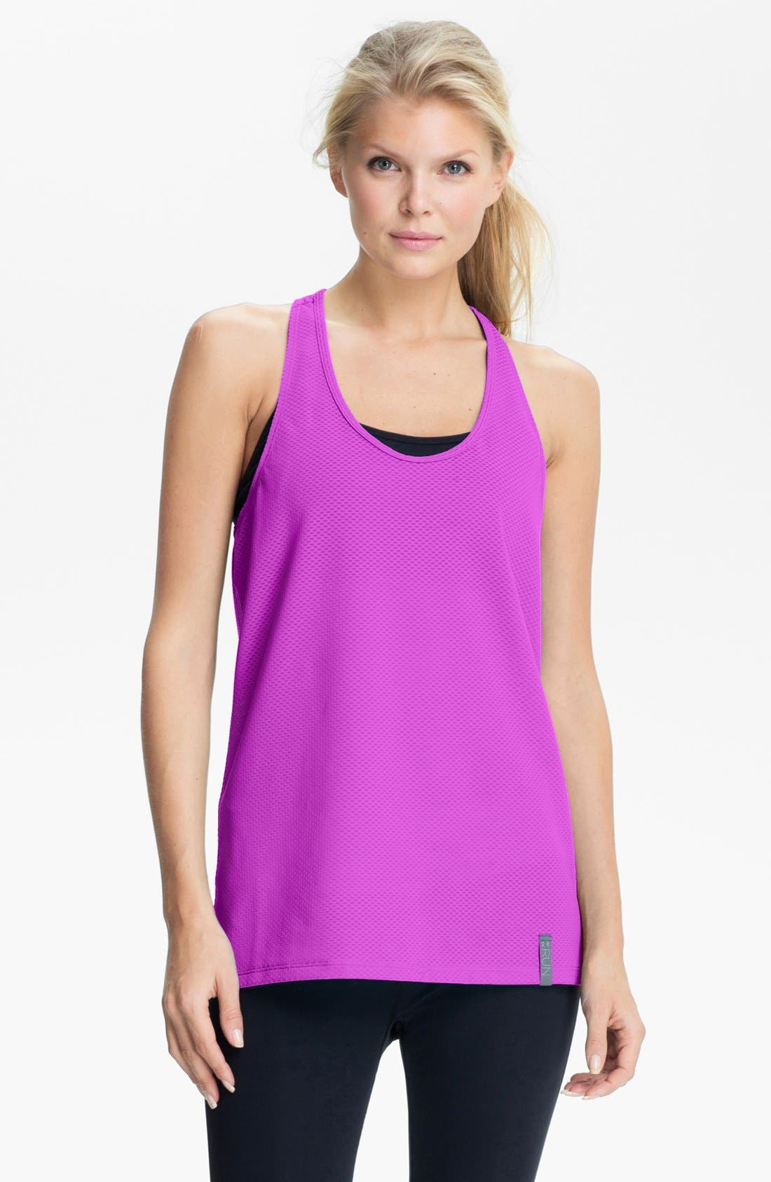 Alternate Image 1 Selected - Under Armour Stretch Mesh Tank