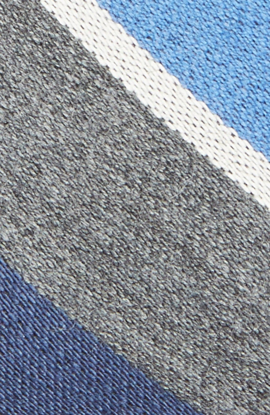 Alternate Image 2  - Gitman Stripe Woven Wool Tie