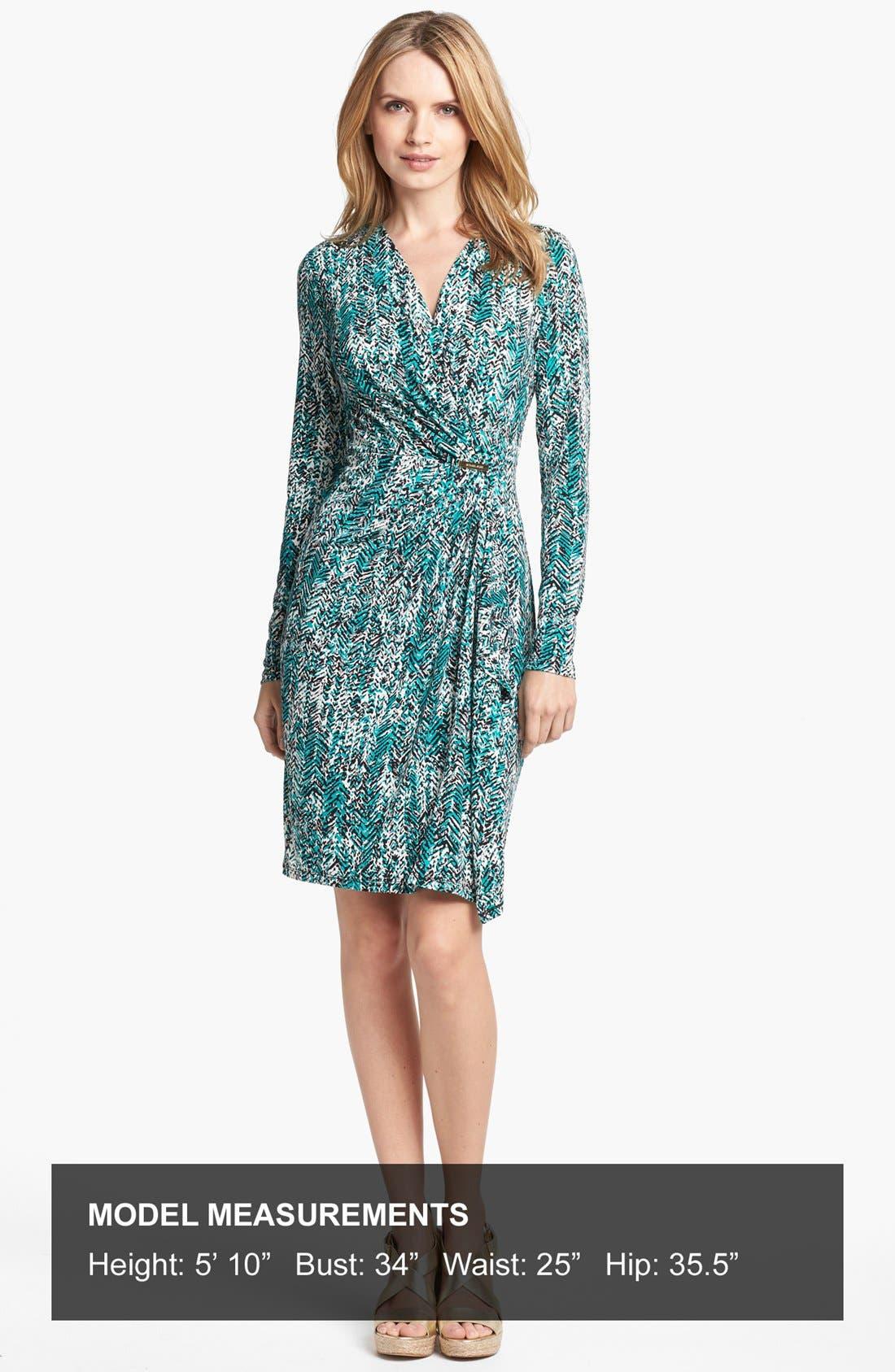 Alternate Image 4  - MICHAEL Michael Kors Print Faux Wrap Dress