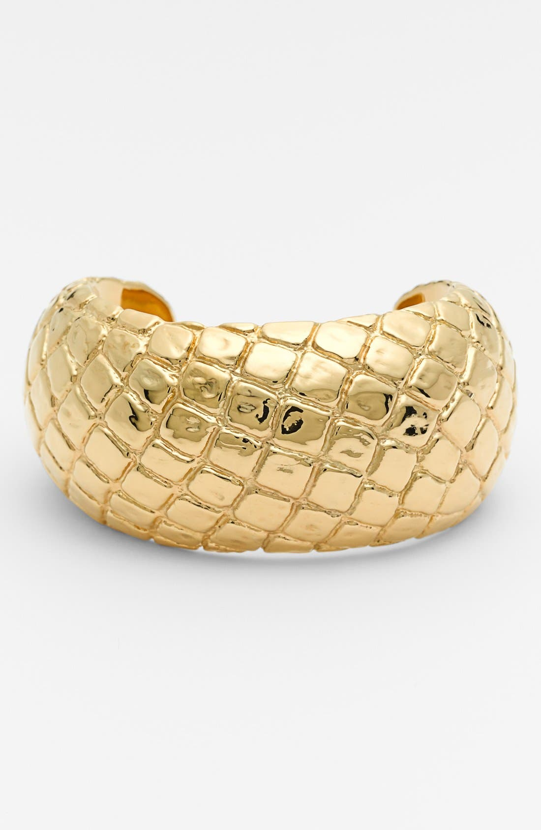 Alternate Image 1 Selected - Simon Sebbag 'Gold Crocodile' Cuff
