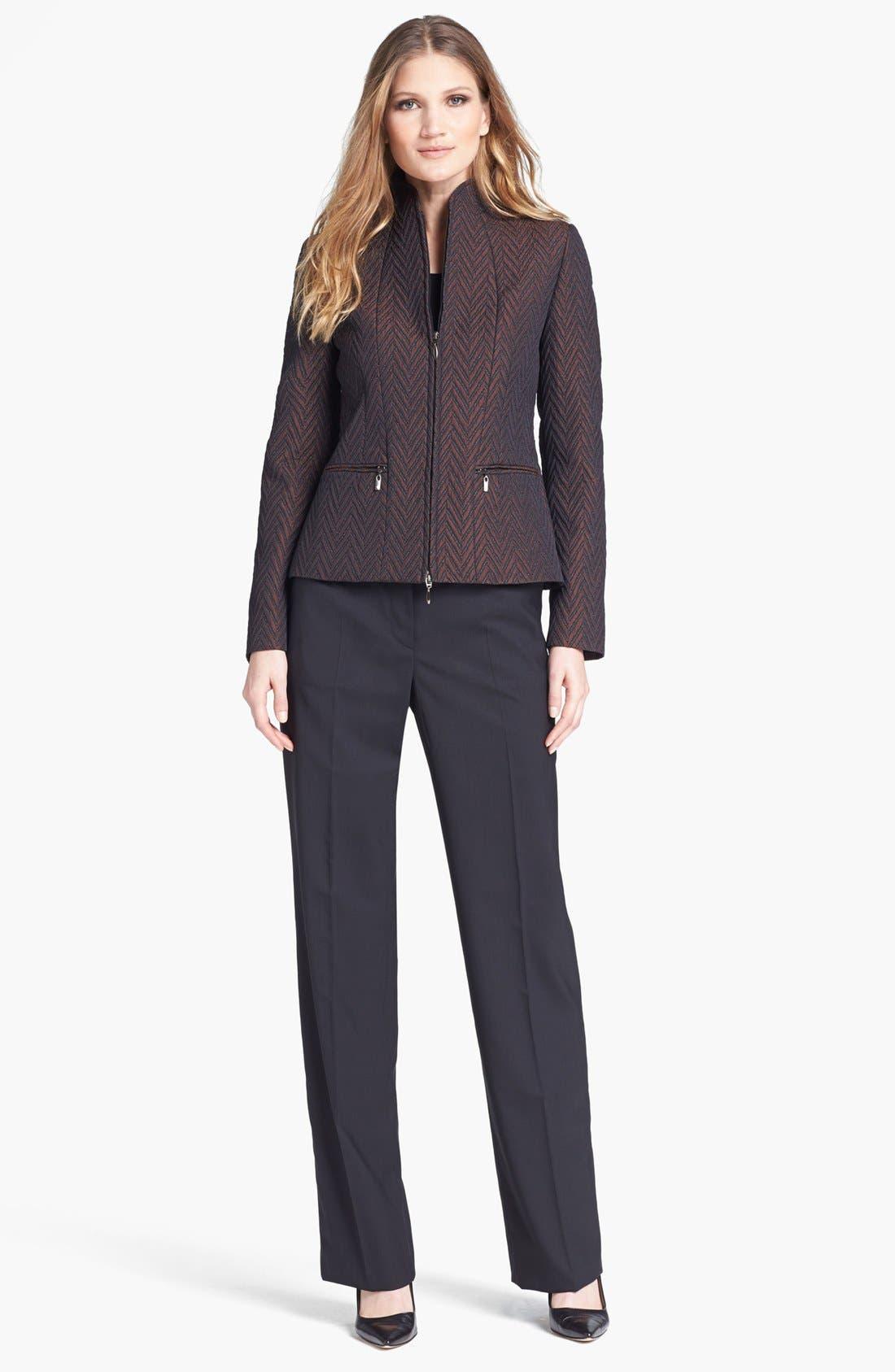 Alternate Image 3  - Zanella Quilted Chevron Jacket