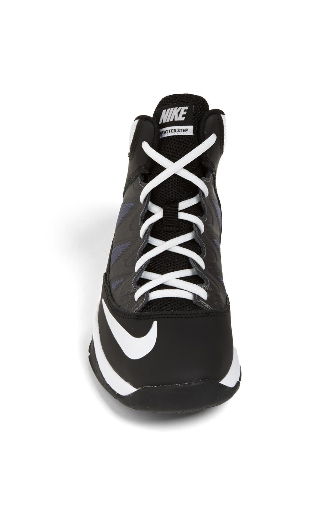 Alternate Image 3  - Nike 'Air Max Stutter Step' Basketball Shoe (Big Kid)
