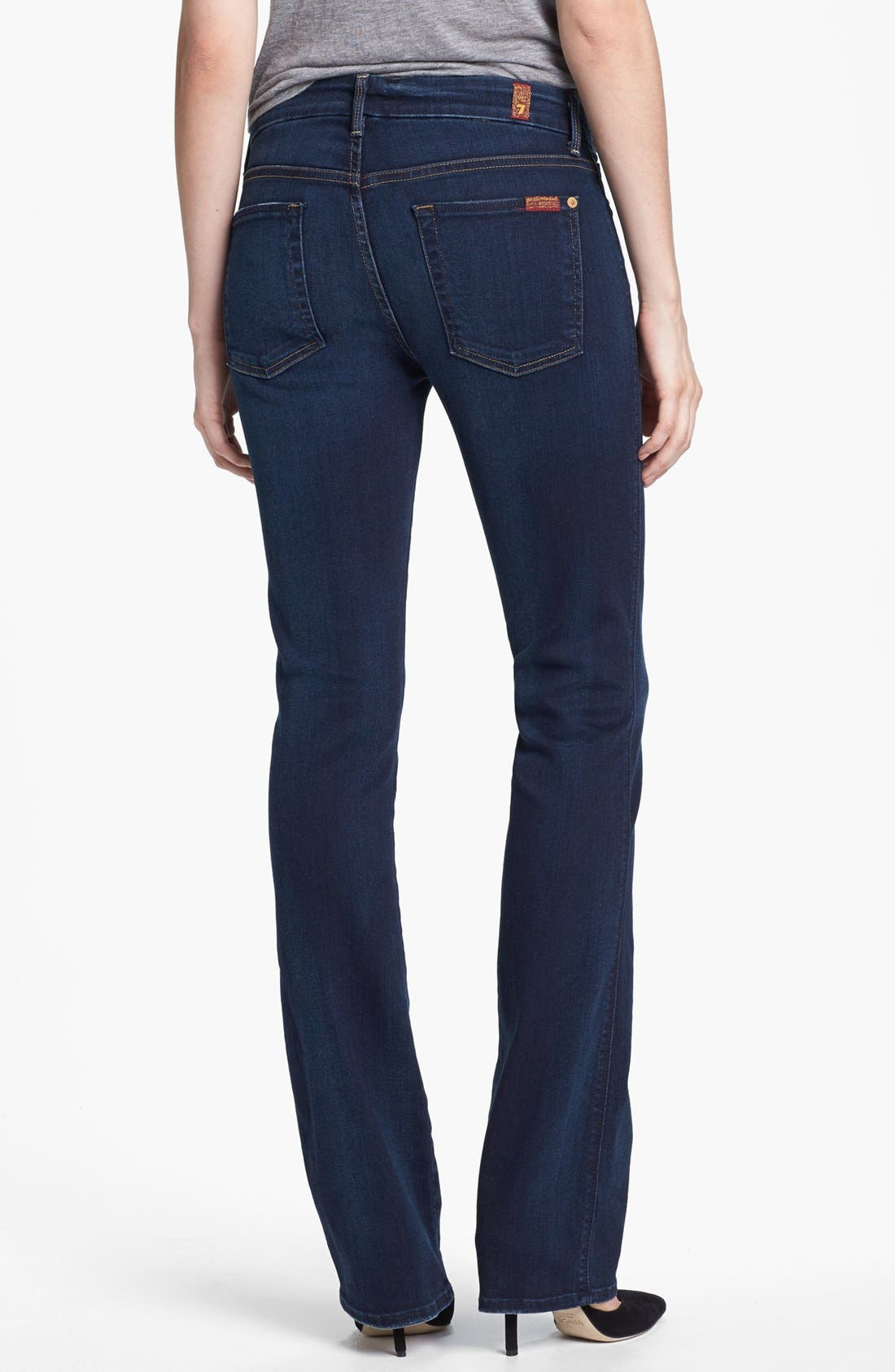 Alternate Image 2  - 7 For All Mankind® 'The Skinny' Bootcut Jeans (Merci Blue)