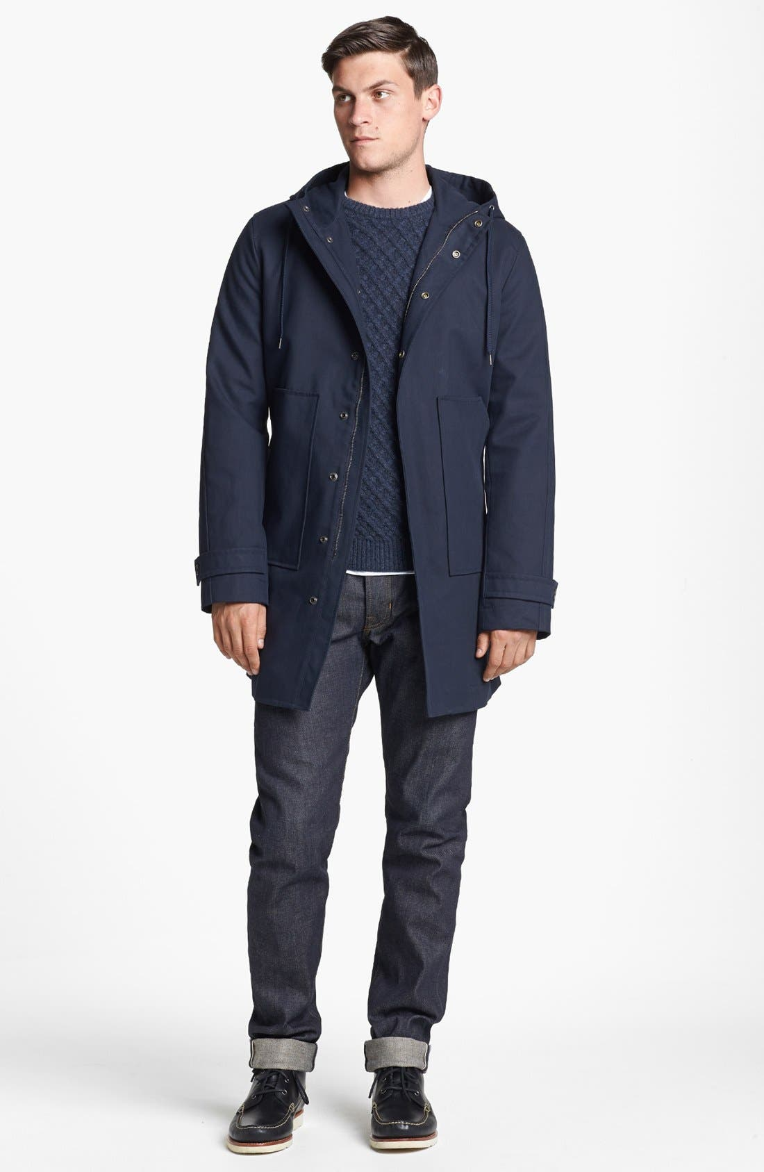 Alternate Image 4  - Vince Water Repellent Hooded Parka