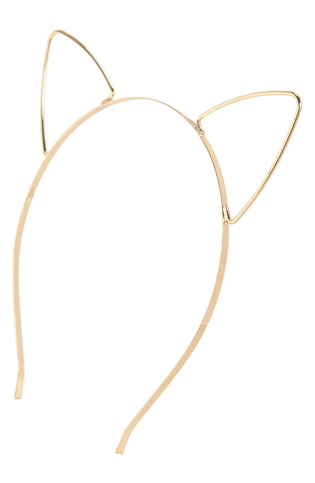 Main Image - BP. Cat Ears Headband (Juniors)
